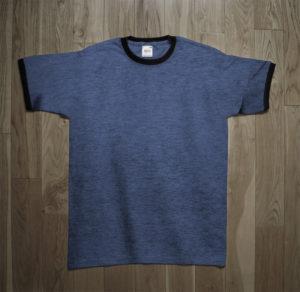 T-Shirt Anvil Man Blue Ringer
