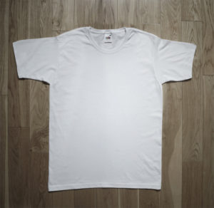 T-Shirt Fruit of the Loom Man White