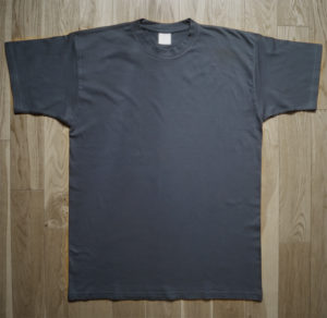 T-Shirt B&C Man Gray