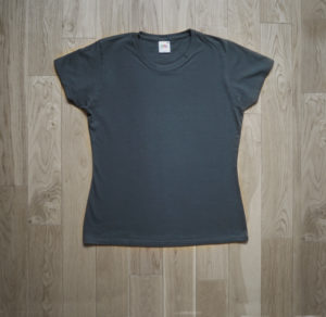 T-Shirt Fruit of the Loom Woman Gray