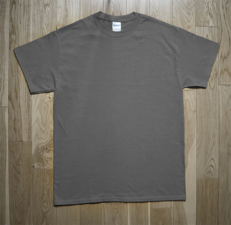 T-Shirt Gildan Man Gray
