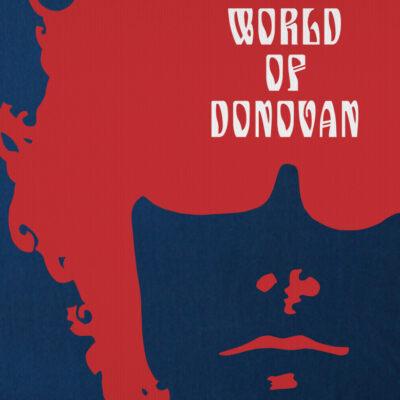 World of Donovan Psychedelic Folk Hippie T-Shirt