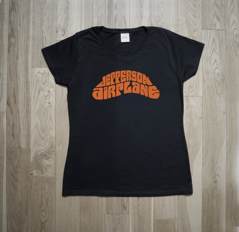 Jefferson Airplane Logo Toronto 1967 T-Shirt