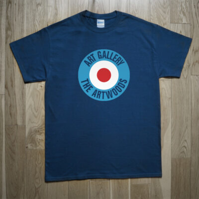 The Artwoods Art Gallery 1966 Mod Target Beat Freakbeat T-Shirt
