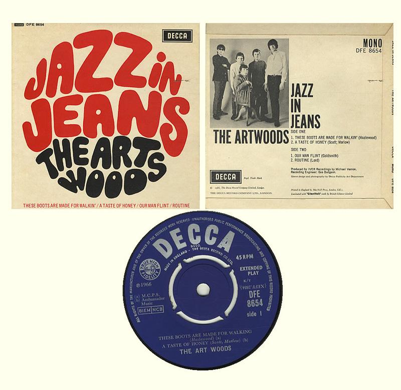 The Art Woods Jazz In Jeans 1966 Mod Beat Freakbeat