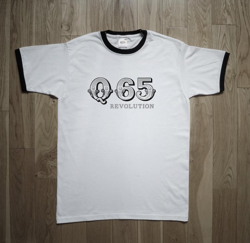 Q65 Revolution 1966 Nederbeat Mod Freakbeat Garage Rock T-Shirt