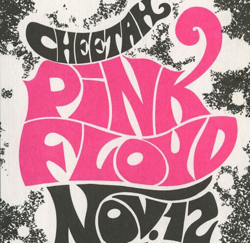 "The Pink Ployd ""1967 Cheetah"" Poster"