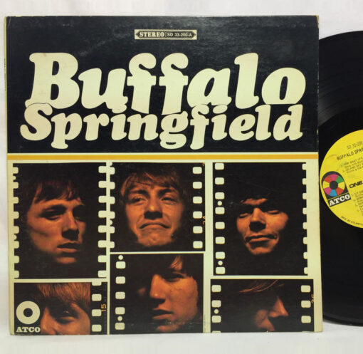 Buffalo Springfield 1966 Album art cover ATCO