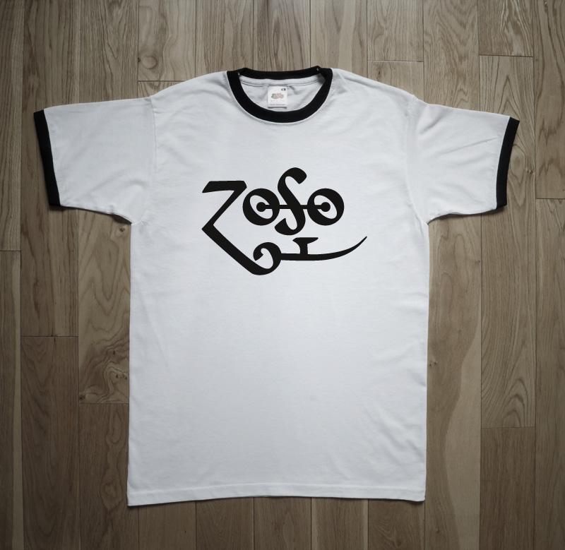 Led Zeppelin ZOSO Symbol Jimmy Page T-Shirt