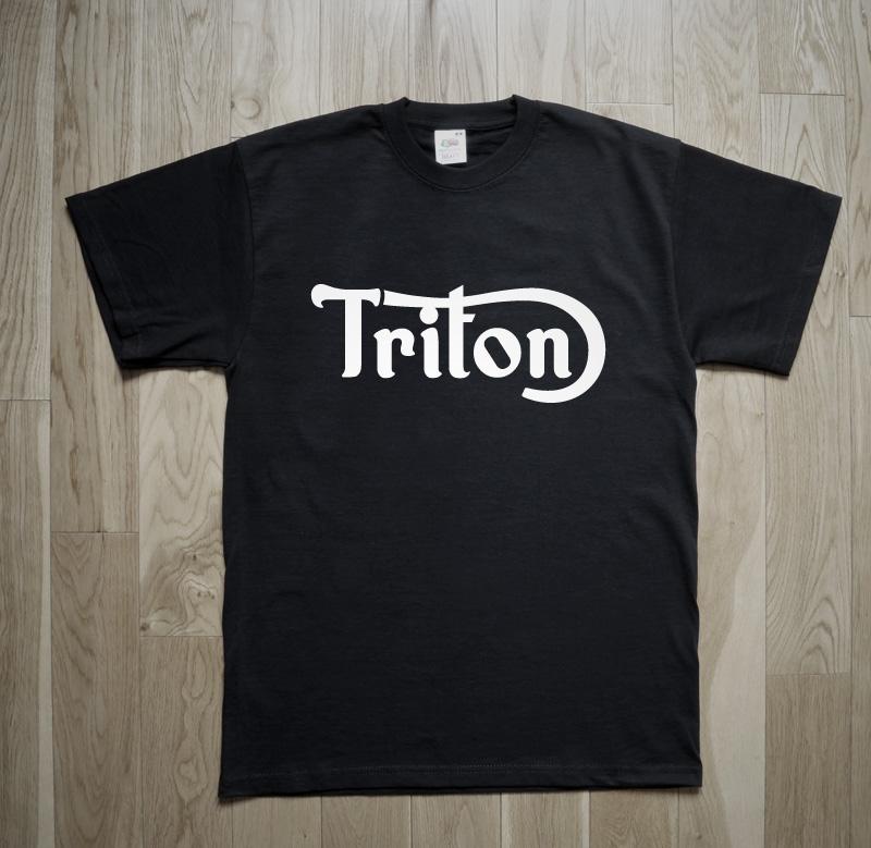 Triton Motorcycle Cafe Racer T-Shirt