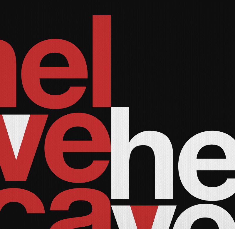 "Helvetica ""Mad Men Poster"" Typography T-shirt"