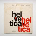 """Helvetica """"Mad Men Poster"""" Typography"""