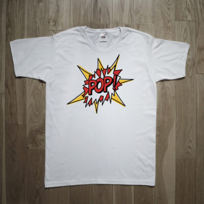"Roy Lichtenstein ""Pop Art"" T-shirt"