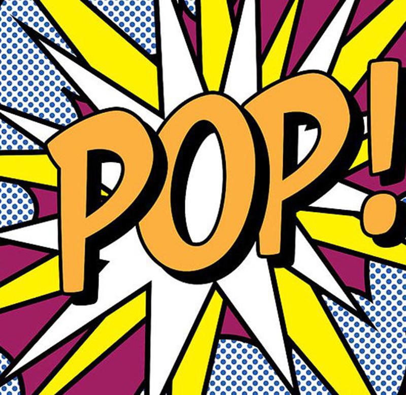 """Roy Lichtenstein """"Pop Art"""" T-shirt"""