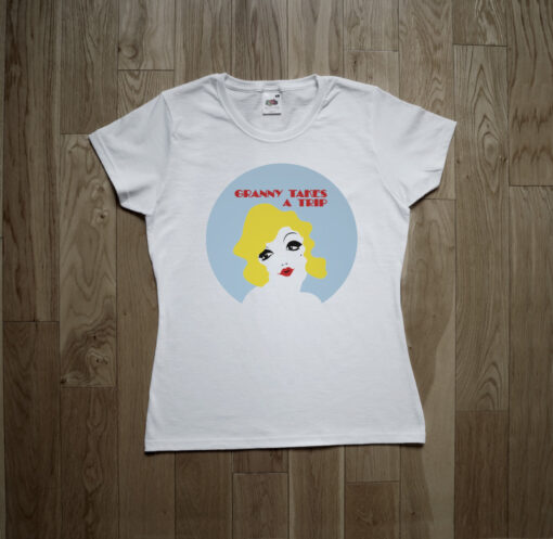 Granny Takes A Trip Swinging London Psychedelic Boutique Kings Road Carnaby Street T-Shirt