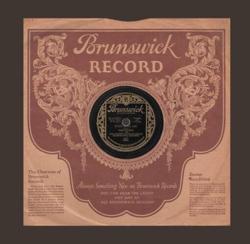 Brunswick Records R&B Soul Mod Company Sleeve