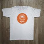 Epic Records 1973 Vinyl Rock T-Shirt