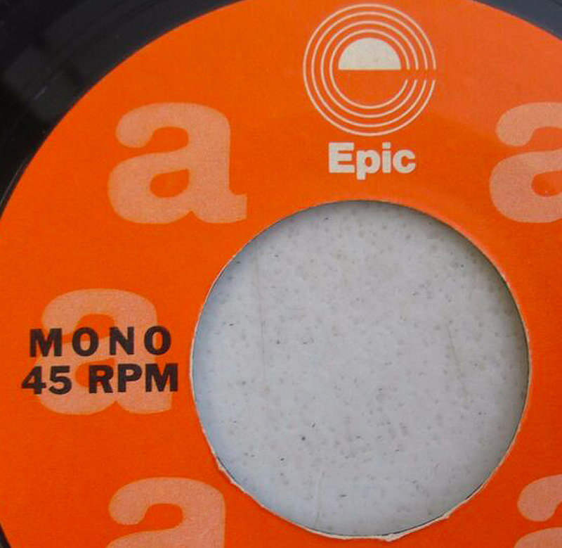 Epic Records 1973 Vinyl Rock