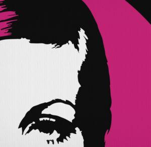 Twiggy Swinging Sixties Icon London Fashion Model T-Shirt