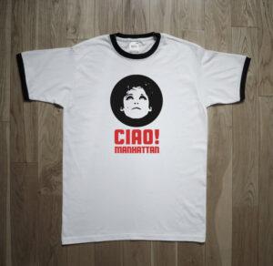 Edie Sedgwick Ciao! Manhattan Warhol Velvet Undergorund T-Shirt