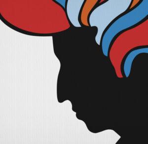 Bob Dylan Psychedelic Milton Glaser Mad Men T-Shirt