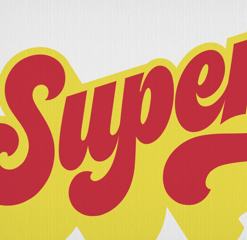 Supergirl Seventies Pop Glam Rockstar T-Shirt