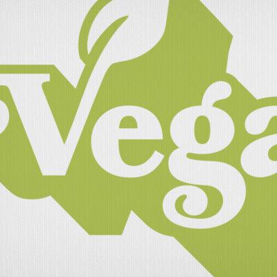 Vegan Vintage Seventies Logo T-Shirt