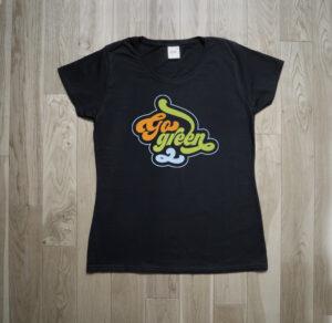 Go Green Vintage Sixties Ecology Boho T-Shirt