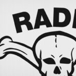 Radio Caroline Sixties Mod Beat Rock Skull T-Shirt