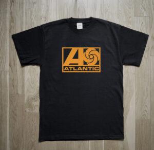 Atlantic Records Jazz Soul Rock Mod Sixties Music Vinyl T-Shirt