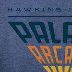 Stranger Things Palace Arcade Videogames T-Shirt