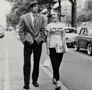 Herald Tribune Jean Seberg T-Shirt